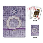 Lavender Rain Playing Cards - Playing Cards Single Design