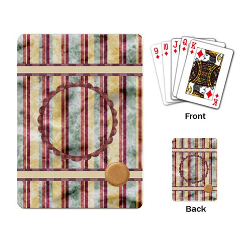 Quilted Playing Cards By Lisa Minor   Playing Cards Single Design   775beu87pwnt   Www Artscow Com Back