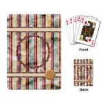 Quilted Playing Cards - Playing Cards Single Design