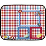 Silly Summer Fun Small Blanket 1 - Mini Fleece Blanket