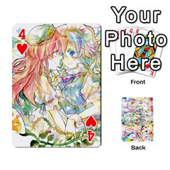 Touhou Watercolor Deck By Herpan Derpan   Playing Cards 54 Designs   Awp89gt03fyd   Www Artscow Com Front - Heart4