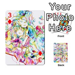 Touhou Watercolor Deck By Herpan Derpan   Playing Cards 54 Designs   Awp89gt03fyd   Www Artscow Com Front - Diamond3