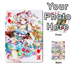 King Touhou Watercolor Deck By Herpan Derpan   Playing Cards 54 Designs   Awp89gt03fyd   Www Artscow Com Front - DiamondK