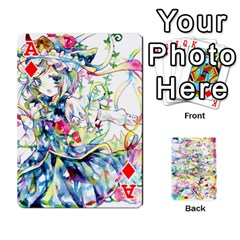 Ace Touhou Watercolor Deck By Herpan Derpan   Playing Cards 54 Designs   Awp89gt03fyd   Www Artscow Com Front - DiamondA
