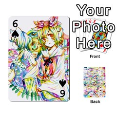 Touhou Watercolor Deck By Herpan Derpan   Playing Cards 54 Designs   Awp89gt03fyd   Www Artscow Com Front - Spade6