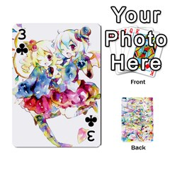 Touhou Watercolor Deck By Herpan Derpan   Playing Cards 54 Designs   Awp89gt03fyd   Www Artscow Com Front - Club3
