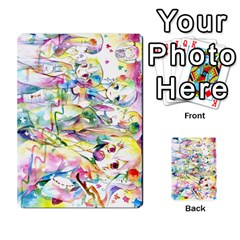 Touhou Watercolor Deck By Herpan Derpan   Playing Cards 54 Designs   Awp89gt03fyd   Www Artscow Com Back