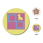 Dog cards - Playing Cards (Round)