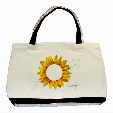 Sunflower  Classic Tote By Mikki   Basic Tote Bag   0otj03omul5c   Www Artscow Com Front