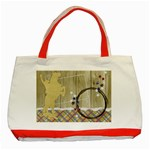 Cowboy-Classic Tote Bag red - Classic Tote Bag (Red)