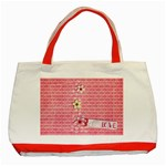 Love-Classic Tote Bag-red - Classic Tote Bag (Red)
