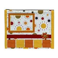 Tangerine Breeze Xl Cosmetic Bag By Lisa Minor   Cosmetic Bag (xl)   Finlexfgsdjn   Www Artscow Com Front