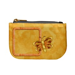 Tangerine Breeze Coin Bag By Lisa Minor   Mini Coin Purse   Iuxxufox0f1n   Www Artscow Com Front