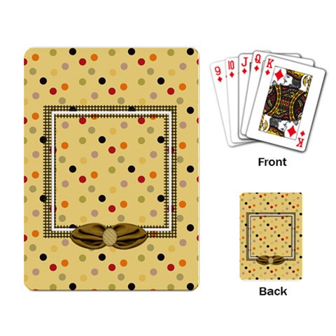 Tangerine Breeze Playing Cards 1 By Lisa Minor   Playing Cards Single Design   J6d2xyk5e20c   Www Artscow Com Back