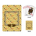 Tangerine Breeze Playing Cards 1 - Playing Cards Single Design