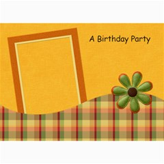 Tangerine Breeze Birthday Card 2 By Lisa Minor   5  X 7  Photo Cards   Qyzqe95aqk84   Www Artscow Com 7 x5 Photo Card - 1