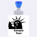 US stamp - Rubber Stamp Round (Large)