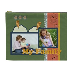 Family By Joely   Cosmetic Bag (xl)   Puoearrj8kow   Www Artscow Com Front