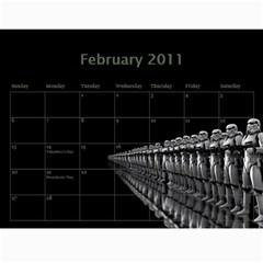 Zak Calendatr Final By K Kaze   Wall Calendar 11  X 8 5  (12 Months)   Vtv6q4yggg46   Www Artscow Com Feb 2011