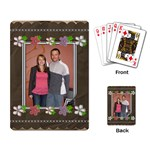 Flower Power Playing Cards - Playing Cards Single Design