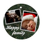Happy family - Ornament - Ornament (Round)