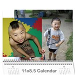3 YEAR Tom - Wall Calendar 11  x 8.5  (12-Months)