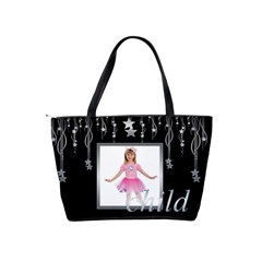 Star Child Classic Shoulder Bag By Catvinnat   Classic Shoulder Handbag   6q1o96odgsla   Www Artscow Com Back