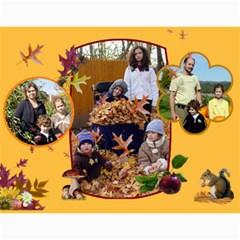 Calendar By Julia   Wall Calendar 11  X 8 5  (12 Months)   O2g3j3x3b7uh   Www Artscow Com Month