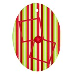 Cherry Slush Oval Ornament 1 - Ornament (Oval)