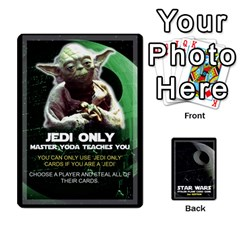 Star Wars Second Edition Game By Matthew Meadows   Playing Cards 54 Designs (rectangle)   Ojes2ttw16sb   Www Artscow Com Front - Joker1