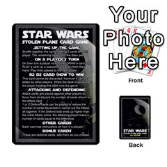 Star Wars Second Edition Game By Matthew Meadows   Playing Cards 54 Designs (rectangle)   Ojes2ttw16sb   Www Artscow Com Front - Joker2