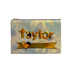 Flower Bag By Patricia W   Cosmetic Bag (medium)   3rnmdhcc4rse   Www Artscow Com Front