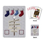 Holiday Playing Cards - Playing Cards Single Design