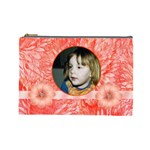 Mandarin Large Cosmetic Case - Cosmetic Bag (Large)