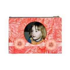Mandarin Large Cosmetic Case By Joan T   Cosmetic Bag (large)   Hflz5wn28ljc   Www Artscow Com Back
