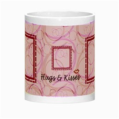 Hugs & Kisses By Daniela   Night Luminous Mug   3du60rnx45sj   Www Artscow Com Center
