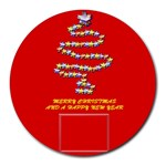 Christmas tree - Round Mousepad
