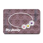 My family - 24 x16  DOOR MAT - Small Doormat