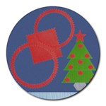 Christmas - Round Mousepad