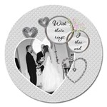 Wedding 5  Magnet - Magnet 5  (Round)