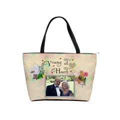Young At Heart Shoulder Handbag By Lil    Classic Shoulder Handbag   Mmjiwppc027y   Www Artscow Com Front