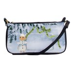 Winter Blues-shoulder bag1 - Shoulder Clutch Bag