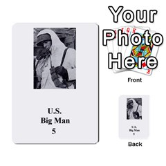 Iabsm Us Bulge By T Van Der Burgt   Multi Purpose Cards (rectangle)   Roehow2chdo7   Www Artscow Com Back 35