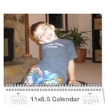 kalendar - Wall Calendar 11  x 8.5  (12-Months)