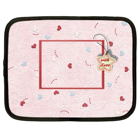 With Love By Daniela   Netbook Case (xxl)   Qnociuxq3or6   Www Artscow Com Front