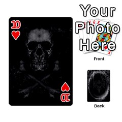 Goth Playin Cards By Brad   Playing Cards 54 Designs   Pyj0k00r8pif   Www Artscow Com Front - Heart10