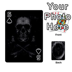Goth Playin Cards By Brad   Playing Cards 54 Designs   Pyj0k00r8pif   Www Artscow Com Front - Spade5