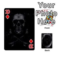 Goth Playin Cards By Brad   Playing Cards 54 Designs   Pyj0k00r8pif   Www Artscow Com Front - Diamond10