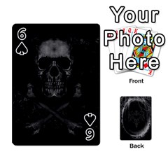 Goth Playin Cards By Brad   Playing Cards 54 Designs   Pyj0k00r8pif   Www Artscow Com Front - Spade6