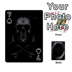 Goth Playin Cards By Brad   Playing Cards 54 Designs   Pyj0k00r8pif   Www Artscow Com Front - Spade7